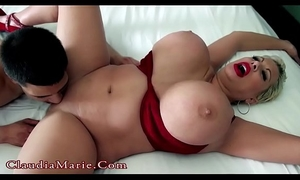 Young latino bonks biggest tit claudia marie