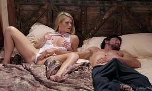 Blonde sweetheart and her sleepwalker step daddy - abby cross and tommy pistol