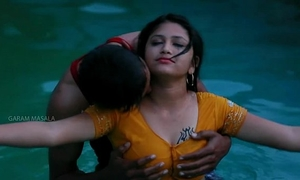 Hot mamatha romance with chap ally in swimming pool-1