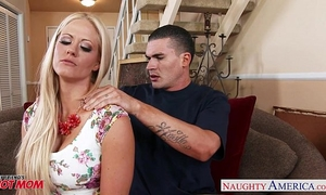Very hot mamma holly heart receives large bazookas screwed