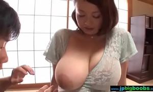 Busty japanese black cock sluts groped and drilled 2/4 - what´s her name?