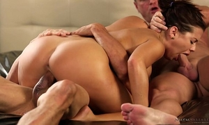 Stepdad and uncle got invited by keisha grey - dream massage