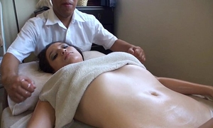 Asian massages white white women