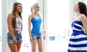 Lola foxx, aubrey star, charlotte stokely and abby cross at webyoung