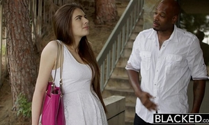Blacked 1st interracial for marvelous gf zoe wood