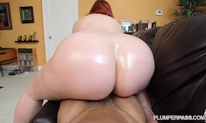 Pawg marcy diamond bonks large dark penis pov