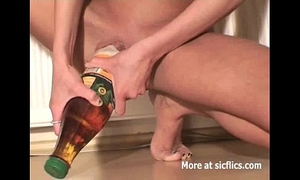 Skinny doxy fucking biggest bottles