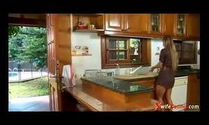 Spanish amateur wife copulates in the kitchen xvideoscom