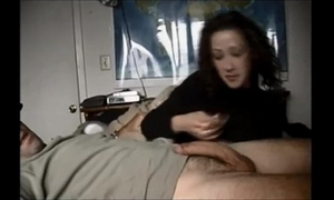 Amateur horny white wife on real homemade