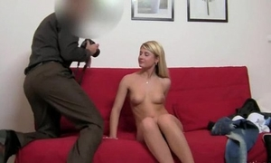 Teenage dirty slut wife havingsex with fake agent