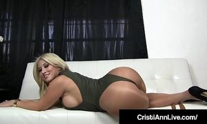 Boss cristi ann confronts employee who stole her filthy pantyhose!