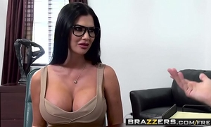 Big zeppelins at work - quid pro blow scene starring jasmine jae keiran lee